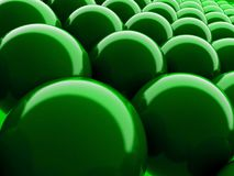 Green ballon background Stock Photos