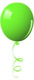 Green balloon Stock Photo