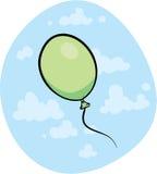 Green Balloon Stock Image