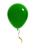 Green balloon royalty free illustration