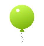 Green balloon icon Stock Photo