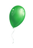 Green balloon. On white background. Vector illustration Royalty Free Stock Images