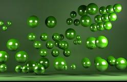 Green balls Royalty Free Stock Photos