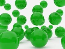 Green balls Stock Photo