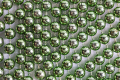 The green balls. Royalty Free Stock Images