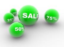 Green balls Royalty Free Stock Image