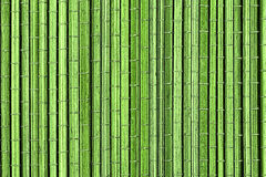 Green bamboo mat, a background Stock Images