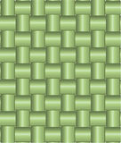 Green Bamboo Pattern. Royalty Free Stock Photos