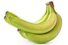 Green banana Stock Photos