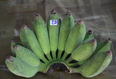Green banana Stock Photos
