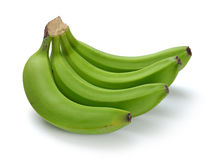 Green banana bundle Royalty Free Stock Image