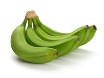 Green banana bundle Royalty Free Stock Images