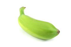 Green Banana. Bundle on a white background Royalty Free Stock Photography