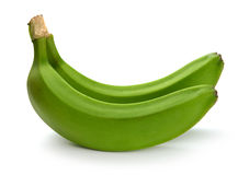Green banana bundle Royalty Free Stock Images