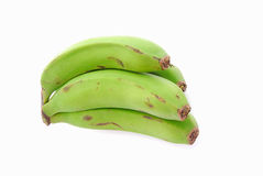 Green bananas Royalty Free Stock Photography