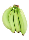 Green bananas Royalty Free Stock Images
