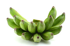Green Bananas Stock Photos