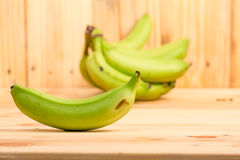 Green bananas Royalty Free Stock Image