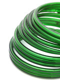 Green bangles Royalty Free Stock Photo
