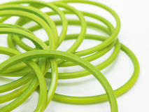 Green bangles Royalty Free Stock Image