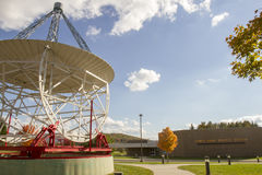 Green Bank Science Center and Jansky Antenna Royalty Free Stock Photography