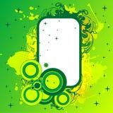 Green banner Royalty Free Stock Photos