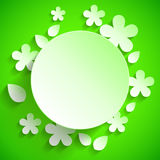 Green Banner Royalty Free Stock Images