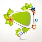 Green banner design Royalty Free Stock Image