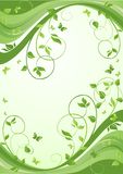 Green banner Stock Images