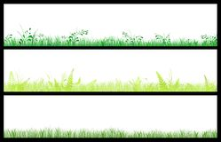 Green banners Royalty Free Stock Photography