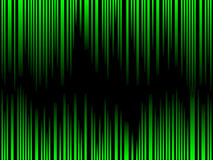 Green bar code Royalty Free Stock Image