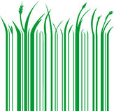 Green barcode Royalty Free Stock Images