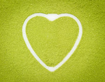 Green barley background Stock Images