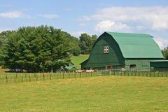 Green Barn Royalty Free Stock Photo