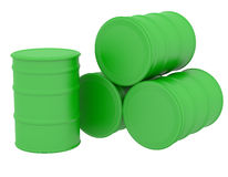 Free Green Barrels Natural Fuel Stock Photo - 35649730