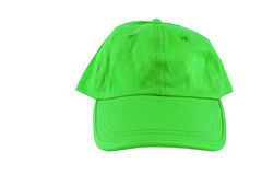 Green baseball cap Royalty Free Stock Image