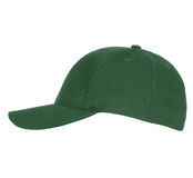 Green Baseball Hat Stock Photography
