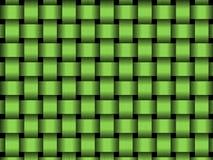 Green basket Stock Image