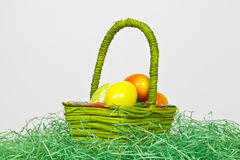Green Basket Stock Images