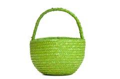 Green basket Royalty Free Stock Photos