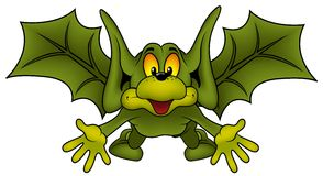 Green Bat B Stock Images