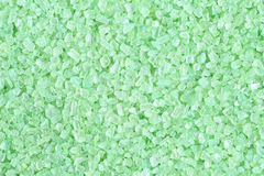 Green bath salt Royalty Free Stock Photography