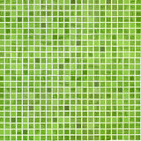 Green bathroom or kitchen tile wall Royalty Free Stock Images