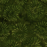 Green Batik Pattern Royalty Free Stock Photo