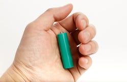 Green battery Royalty Free Stock Photo