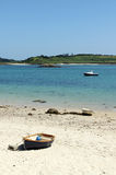 Green bay beach, Bryher Isles of Scilly. Royalty Free Stock Images