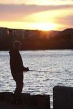 Green Bay Fishing Royalty Free Stock Image