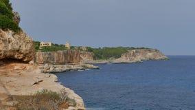 Green Bay luxuoso do mar fotografia de stock