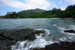 Green Bay nahe Sukamade-Strand, Indonesien Lizenzfreie Stockbilder