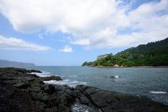 Green Bay nahe Sukamade-Strand, Indonesien Stockbild